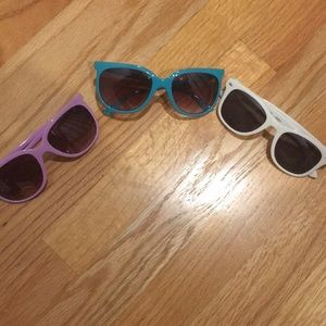Accessories - Set of 3 sunglasses. Some never worn.